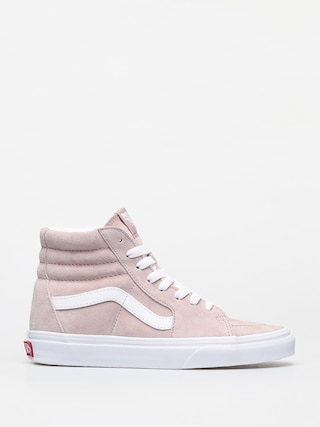 Buty Vans Sk8 Hi (pig suede/shadow gray/true white)