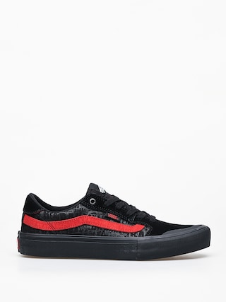 Buty Vans Style 112 Pro (black/black/red)