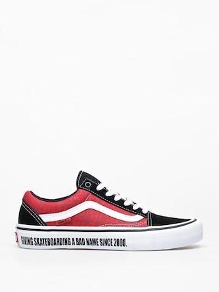 Buty Vans X Baker Old Skool Pro (black/white/red)