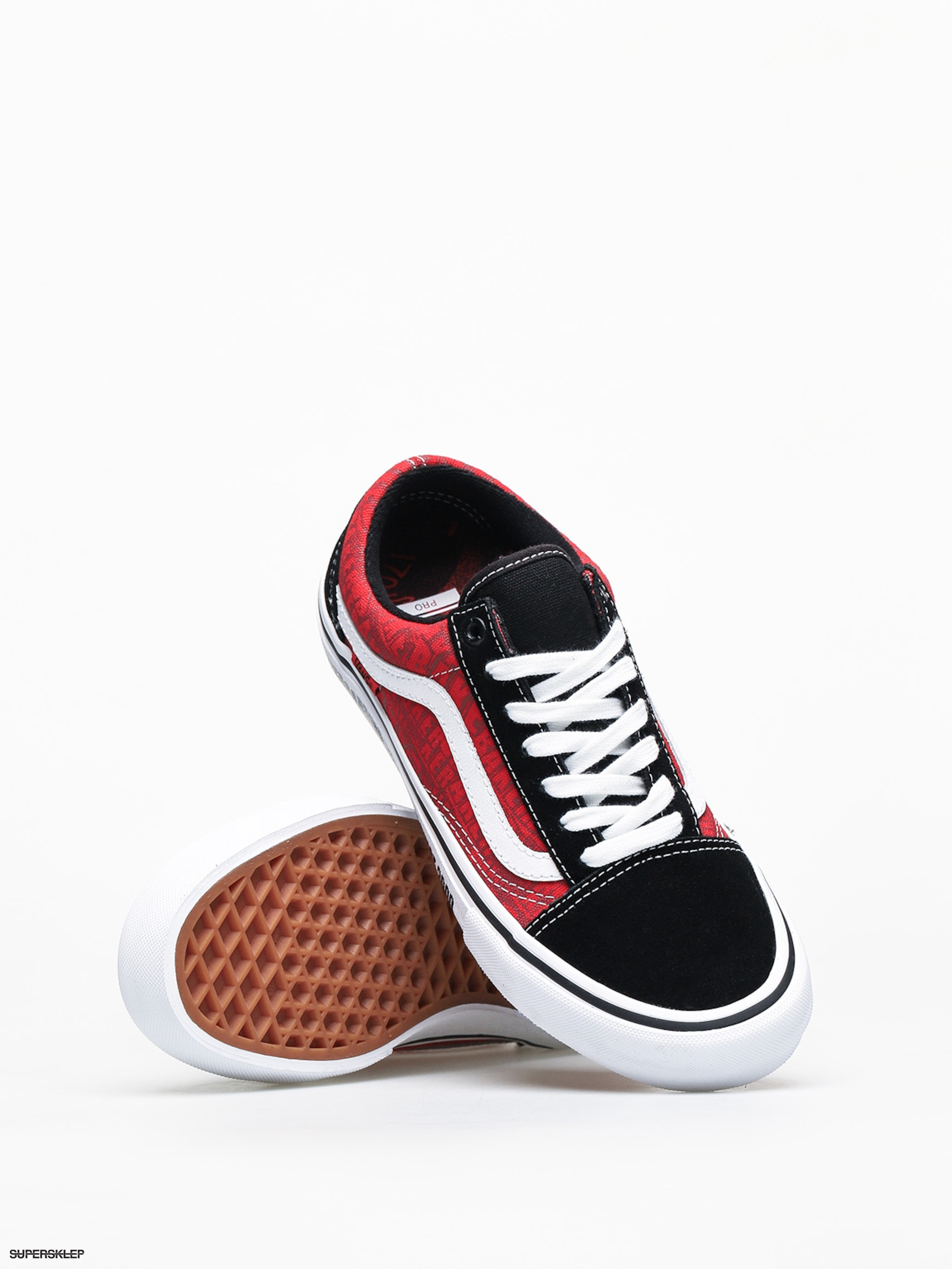 Buty Vans X Baker Old Skool Pro (blackwhitered)