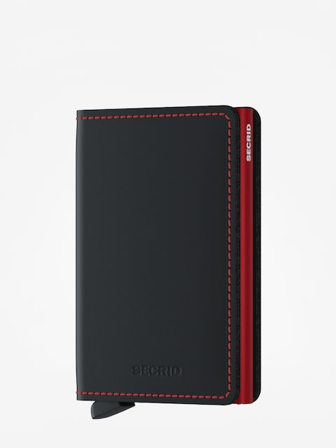 Portfel Secrid Slimwallet (matte black/red)