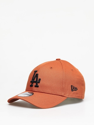 Czapka z daszkiem New Era League Essential Los Angeles Dodgers ZD (orange/black)
