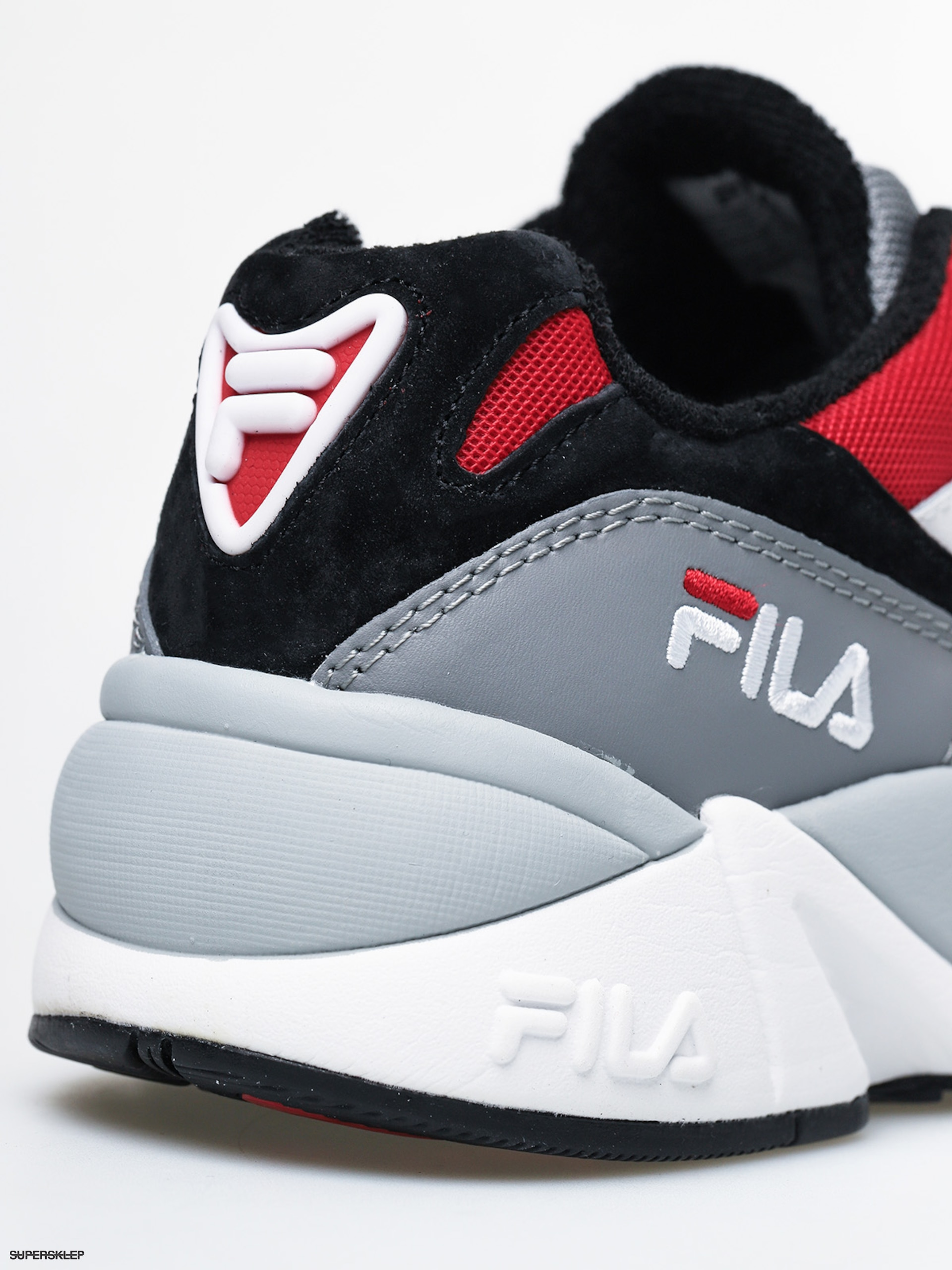 Buty Fila V94M Low (blackwhitefila red)