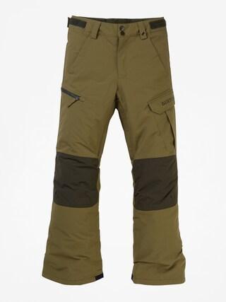Spodnie snowboardowe Burton Exile Cargo (martini olive)