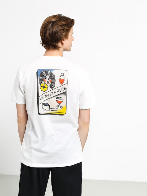 T-shirt RVCA Smith Street (white)