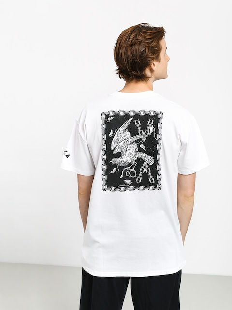 T-shirt RVCA Va Eagle (white)