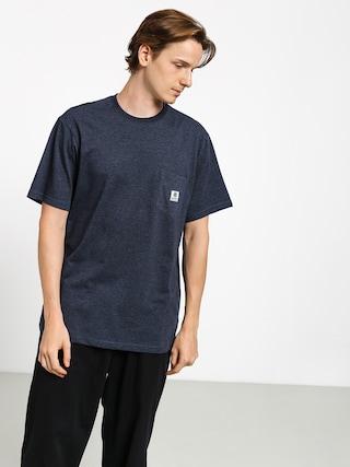 T-shirt Element Basic Pocket Label (indigo heather)