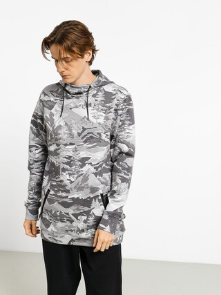 Bluza z kapturem Quiksilver Freedom HD (black snowscene)