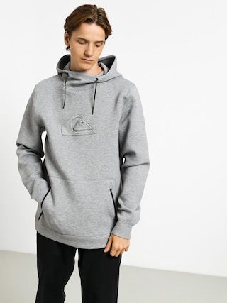 Bluza z kapturem Quiksilver Freedom HD (light grey heather)