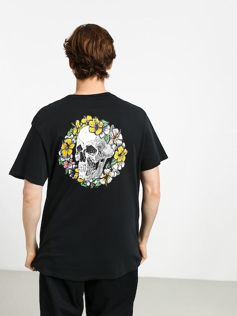 T-shirt Quiksilver Og Dead Flowers (black)