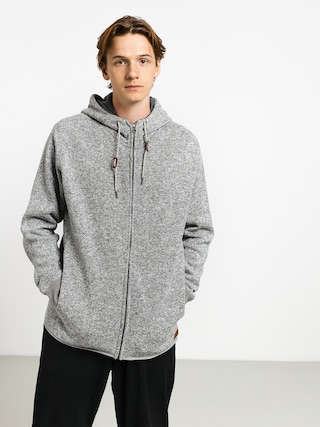 Bluza z kapturem Quiksilver Keller ZHD (medium grey heather)