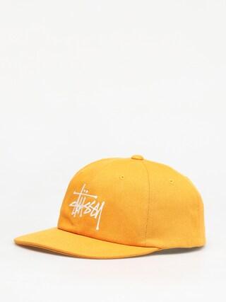 Czapka z daszkiem Stussy Big Logo Low Pro ZD (gold)