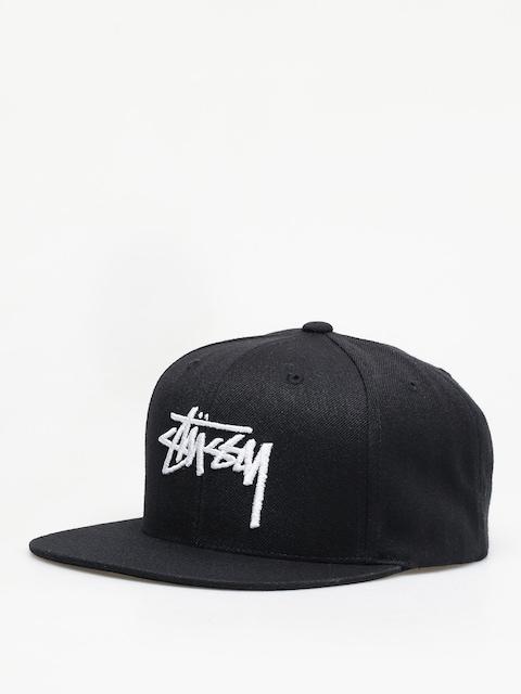 Czapka z daszkiem Stussy Stock Cap ZD (black)