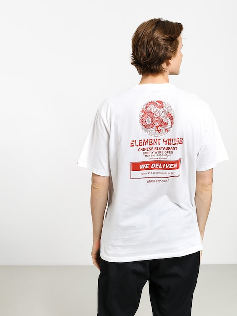 T-shirt Element Delivery (optic white)