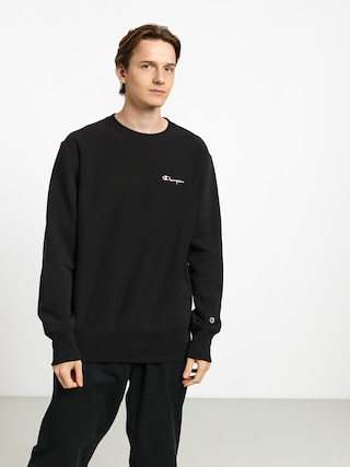 Bluza Champion Premium Reverse Weave Crewneck Left Chest Logo (nbk)