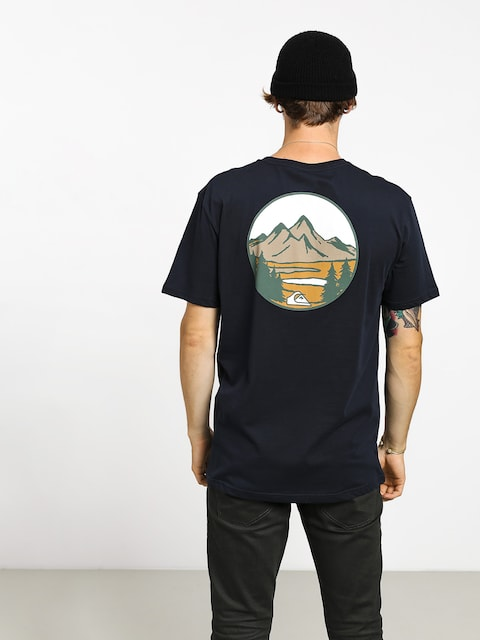 T-shirt Quiksilver Lake Chaser (sky captain)