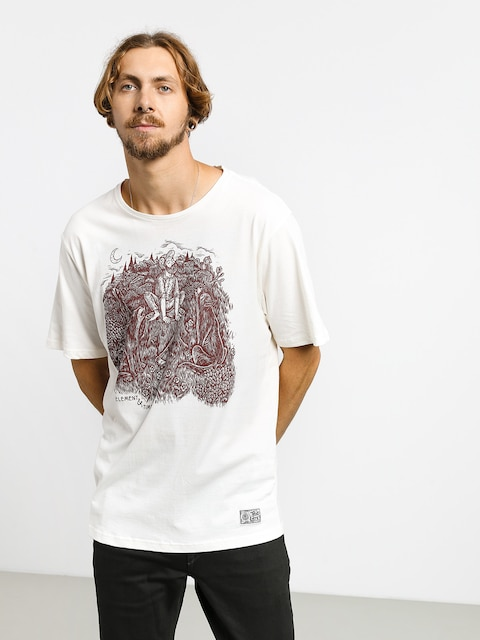 T-shirt Element Howl (off white)