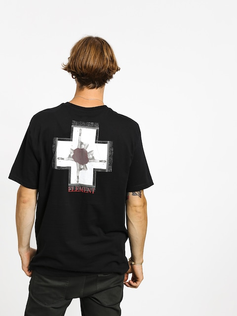 T-shirt Element Burst (flint black)