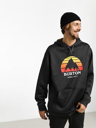 Bluza z kapturem Burton Oak HD (sunset true blk htr)