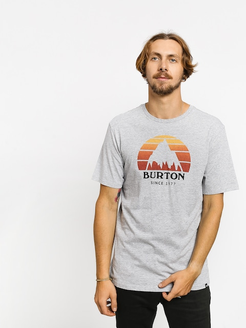 T-shirt Burton Underhill (gray heather)