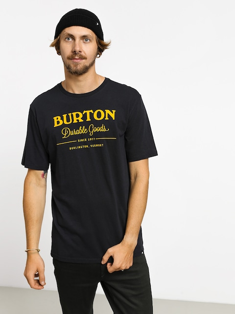 T-shirt Burton Durable Goods (true black)