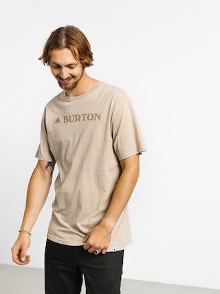 T-shirt Burton Horizontal Mtn (plaza taupe)