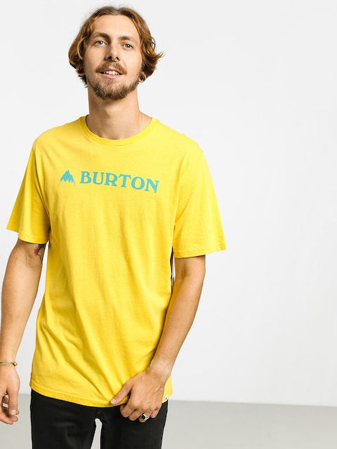 T-shirt Burton Horizontal Mtn (maize)