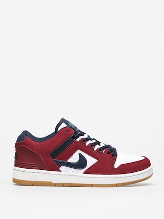 Buty Nike SB Air Force II Low (team red/obsidian white summit white)