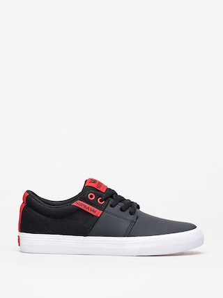Buty Supra Stacks Vulc II (black/risk red white)