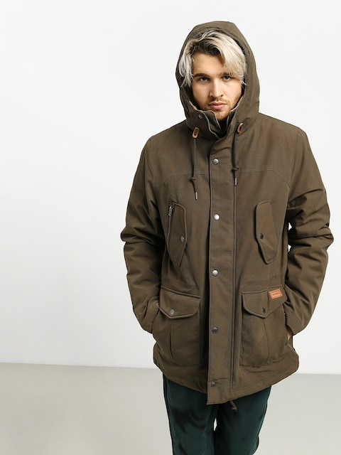 Kurtka Volcom Starget 5K Parka (major brown)