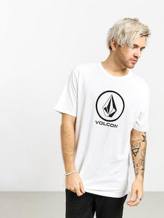T-shirt Volcom Crisp Stone Bsc (white)