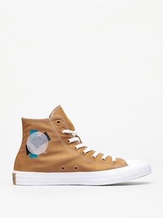 Trampki Converse Chuck Taylor All Star Hi (wheat/turbo green/white)