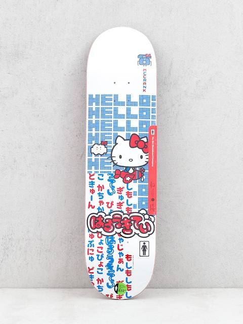 Deck Girl Skateboard Mccrank Hello Kitty