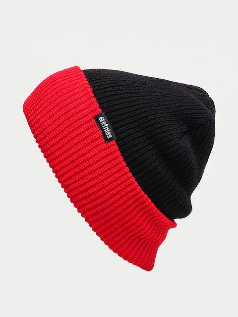 Czapka zimowa Etnies Warehouse Block Beanie (black/red)