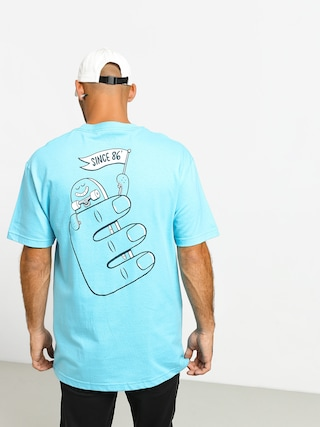T-shirt Etnies Phil Morgan Finger Flip (pacific blue)