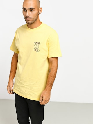T-shirt Etnies Phil Morgan Finger Flip (light yellow)