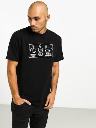 T-shirt Emerica This Is Emerica (black)