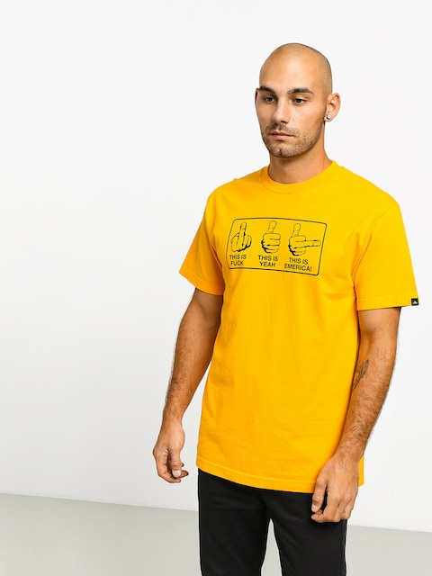 T-shirt Emerica This Is Emerica (gold)