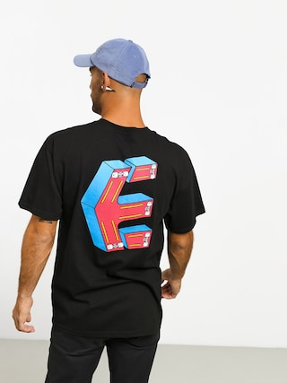 T-shirt Etnies Phil Morgan Crazee Skate (black)
