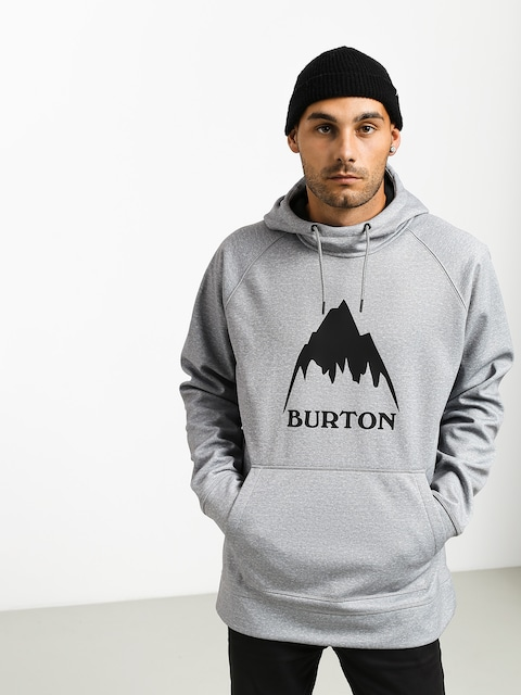 Bluza aktywna Burton Crown Bndd HD (gray heather)