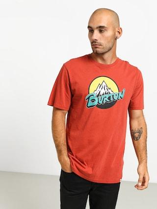 T-shirt Burton Retro Mtn (tandori)