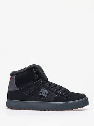 Buty zimowe DC Pure Ht Wc Wnt (black/grey/red)