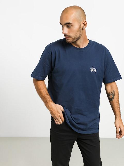 T-shirt Stussy Basic Stussy (navy)