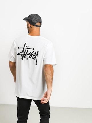 T-shirt Stussy Basic Stussy (white)