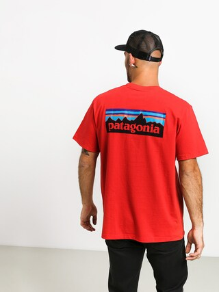 T-shirt Patagonia Logo Responsibili (fire)