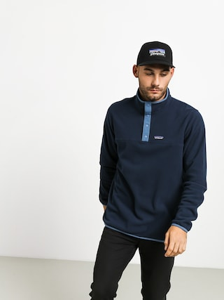 Polar Patagonia Micro D Snap T (new navy)