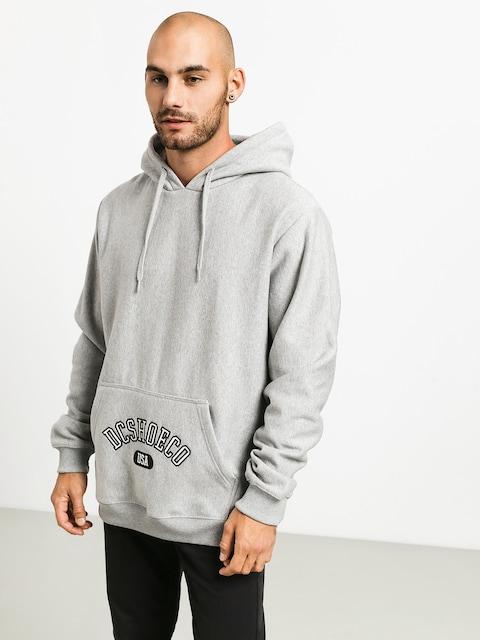 Bluza z kapturem DC Arched HD (grey heather)