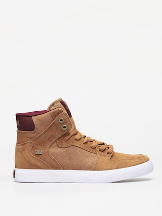 Buty Supra Vaider (tan/wine white)