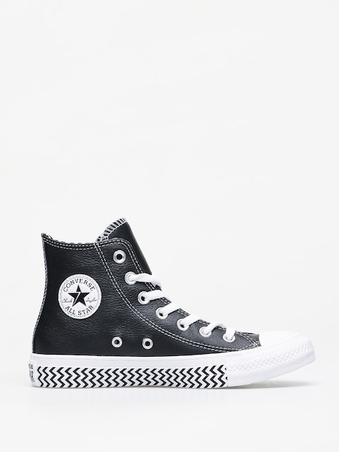 Trampki Converse Chuck Taylor All Star Hi Leather Wmn (black/white/white)