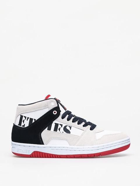 Buty Etnies Mc Rap High (white/navy/red)